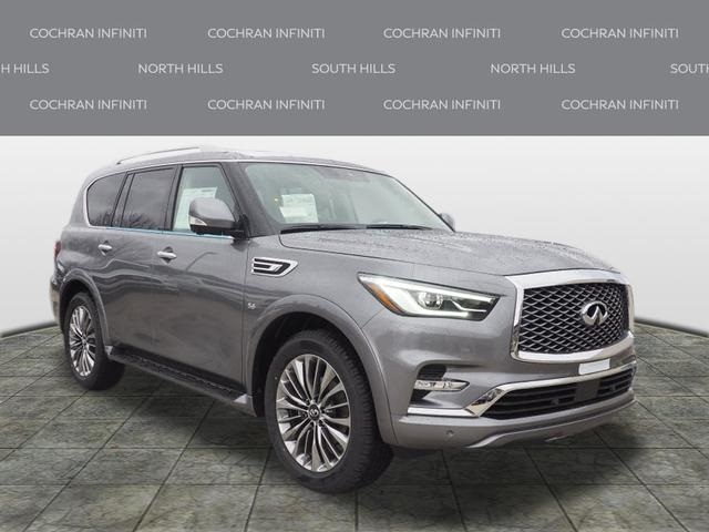 New 2019 Infiniti Qx80 Luxe 4wd Suv In Pittsburgh Si19120 Cochran